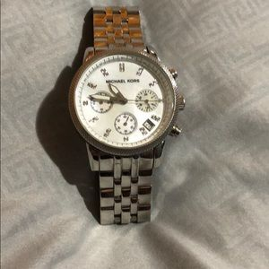 Michael Kors watch (women's)  used some scratches